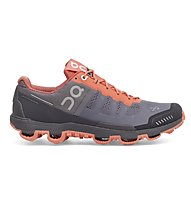 ON Cloudventure Trailrunningschuh Damen, Grey/Lava