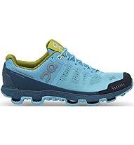 On Cloudventure - Trailrunningschuh - Damen, Light Blue