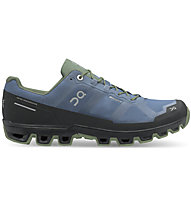 On Cloudventure Waterproof - Trailrunningschuh - Herren, Blue/Green