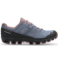 On Cloudventure Waterproof W - Trailrunningschuh - Damen, Light Blue/Rose