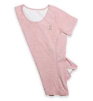 On Comfort-T - Laufshirt - Damen, Rose