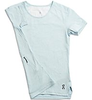 On Comfort-T - Laufshirt - Damen, Light Blue