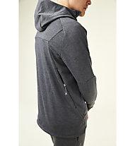 On Hoodie - felpa con cappuccio running - uomo, Grey