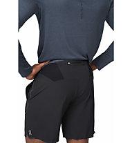 On Hybrid - pantaloni corti running - uomo, Black