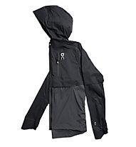 On Lightweight Weather - giacca running - uomo, Black
