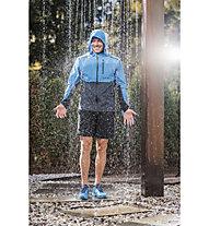 On Lightweight Weather - giacca running - uomo, Light Blue/Blue