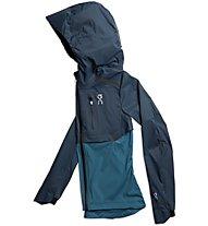 On Lightweight Weather - Runningjacke - Damen, Blue