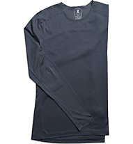 On Long-T W - maglia running a maniche lunghe - donna, Blue