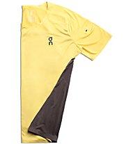 On Performance-T - maglia running - uomo, Yellow/Dark Grey