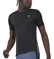 On Performance-T - maglia running - uomo, Black/Dark Grey