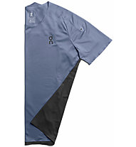 On Performance-T - maglia running - uomo, Light Blue/Black