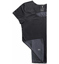 On Performance-T - maglia running - donna, Black/Dark Grey