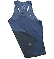 On Tank-T - top running - donna, Dark Blue