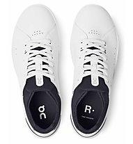 On The Roger Advantage - Sneaker - Damen, White/Black