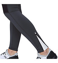 On Tights Long - pantaloni lunghi running - donna, Black