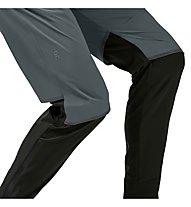 On Waterproof - pantaloni running - uomo, Grey/Black