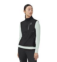 On Weather-Vest W - gilet running - donna, Black