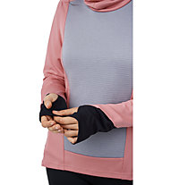 On Weather Shirt - Laufshirt langarm - Damen, Rose