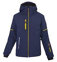 On The Edge M-L Lucania - giacca da sci - donna, Blue/Yellow