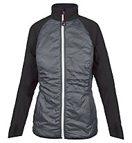 On The Edge Giacca softshell Maggie, Grey/Black