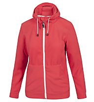 On The Edge Giacca in pile P-L Aissa Lady, Red