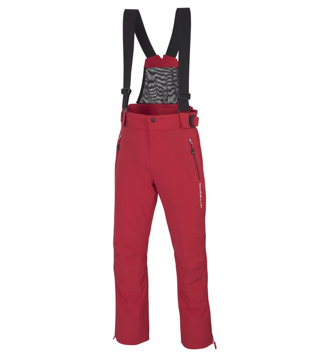 On The Edge S-Bornandes Tech - Skihose - Herren, Red