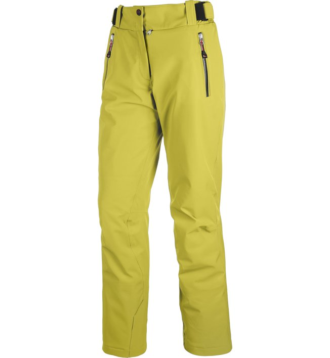 On The Edge S-L Gervais - Skihose - Damen, Yellow