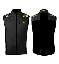 One Way Cata Pro Softshell Vest, Black
