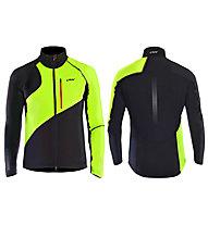One Way Draco Softshell Jacket, Black/Green