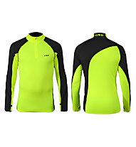 One Way Maglia sci da fondo Prime Sky Thermo Knit Shirt, Yellow