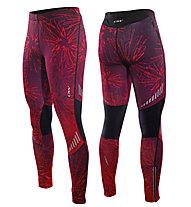 One Way Pantaloni sci da fondo Serete 2 Training Tights, Pink Print