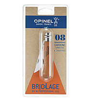 Opinel Carbone N°7 - Outdoormesser, Wood