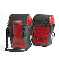 Ortlieb Bike Packer Classic Hinterrad-Fahrradtaschen (Paar), Red/Black