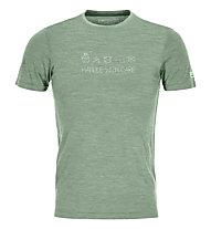 Ortovox 120 Cool Tec Wool - T-Shirt - Herren, Green