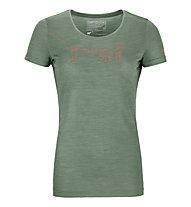 Ortovox 120 Merino Cool Tec - t-shirt - donna, Green