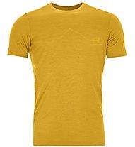 Ortovox 120 Tec Mountain - T-Shirt Bergsport - Herren, Yellow