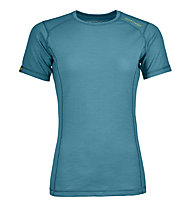 Ortovox 145 Ultra Short Sleeve W - Funktionsshirt - Damen, Light Blue
