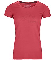 Ortovox 150 Cool Hug - T-shirt - donna, Red