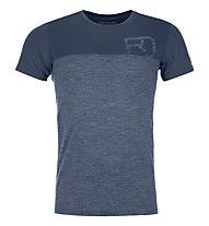 Ortovox 150 Cool Logo - T-Shirt - Herren, Blue