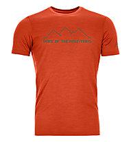 Ortovox 150 Cool Pixel Voice - T-shirt - uomo, Orange