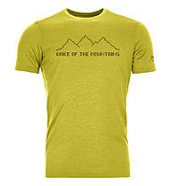 Ortovox 150 Cool Pixel Voice - T-shirt - Herren, Yellow