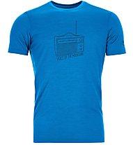 Ortovox 150 Cool Radio Ts - T-shirt - uomo, Light Blue
