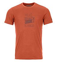 Ortovox 150 Cool Radio Ts - T-Shirt - Herren, Orange
