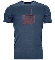 Ortovox 150 Cool Radio Ts - T-Shirt - Herren, Blue