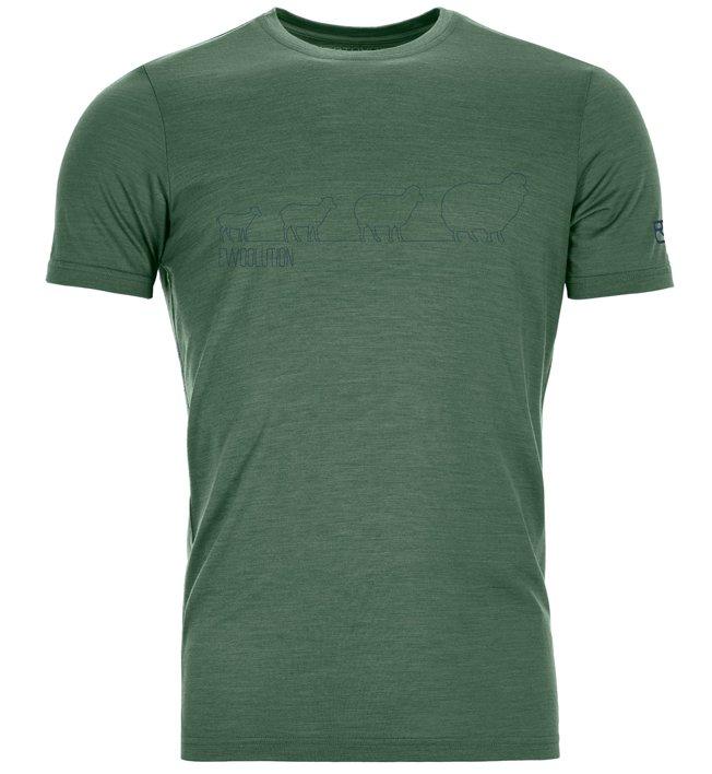 Ortovox 150 Cool Weoolution Ts - T-shirt - uomo, Green