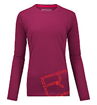 Ortovox 185 Equipment - Funktionsshirt - Damen, Pink