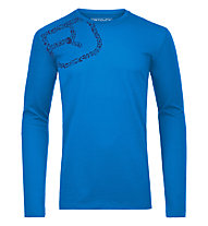 Ortovox 185 Equipment - Funktionsshirt - Herren, Blue Ocean