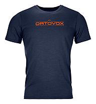 Ortovox 185 Merino 1st Logo - Funktionsshirt - Herren, Dark Blue
