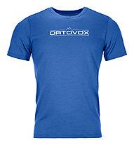 Ortovox 185 Merino 1st Logo - Funktionsshirt - Herren, Light Blue