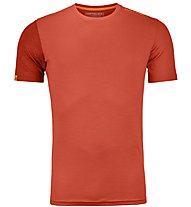 Ortovox 185 Rock'n Wool - Funktionsshirt - Herren, Orange